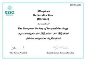 Сертификат Стан Наталья