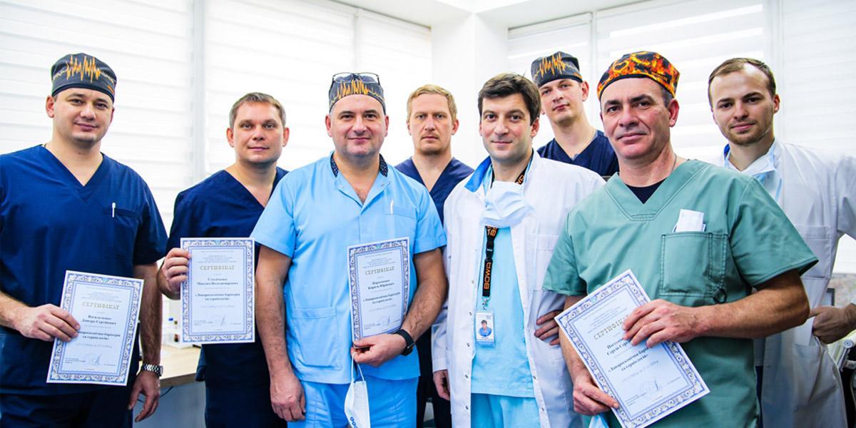 Мастер-класс по бариатрической хирургии для хирургов со всей Украины