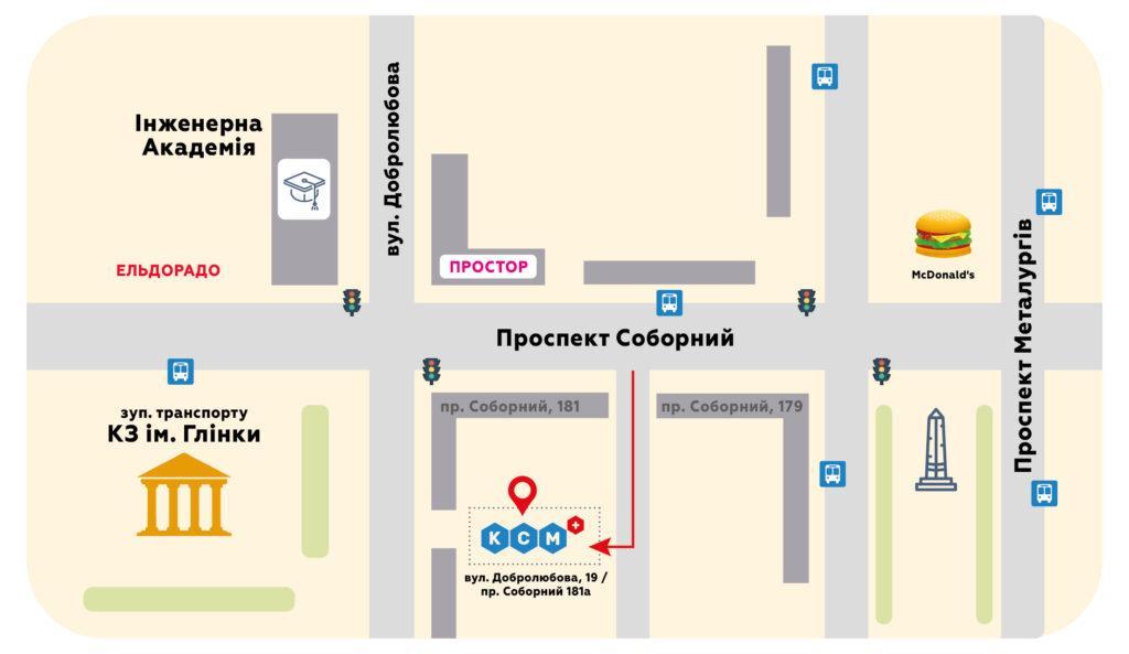 Карта проезда на металлургов укр
